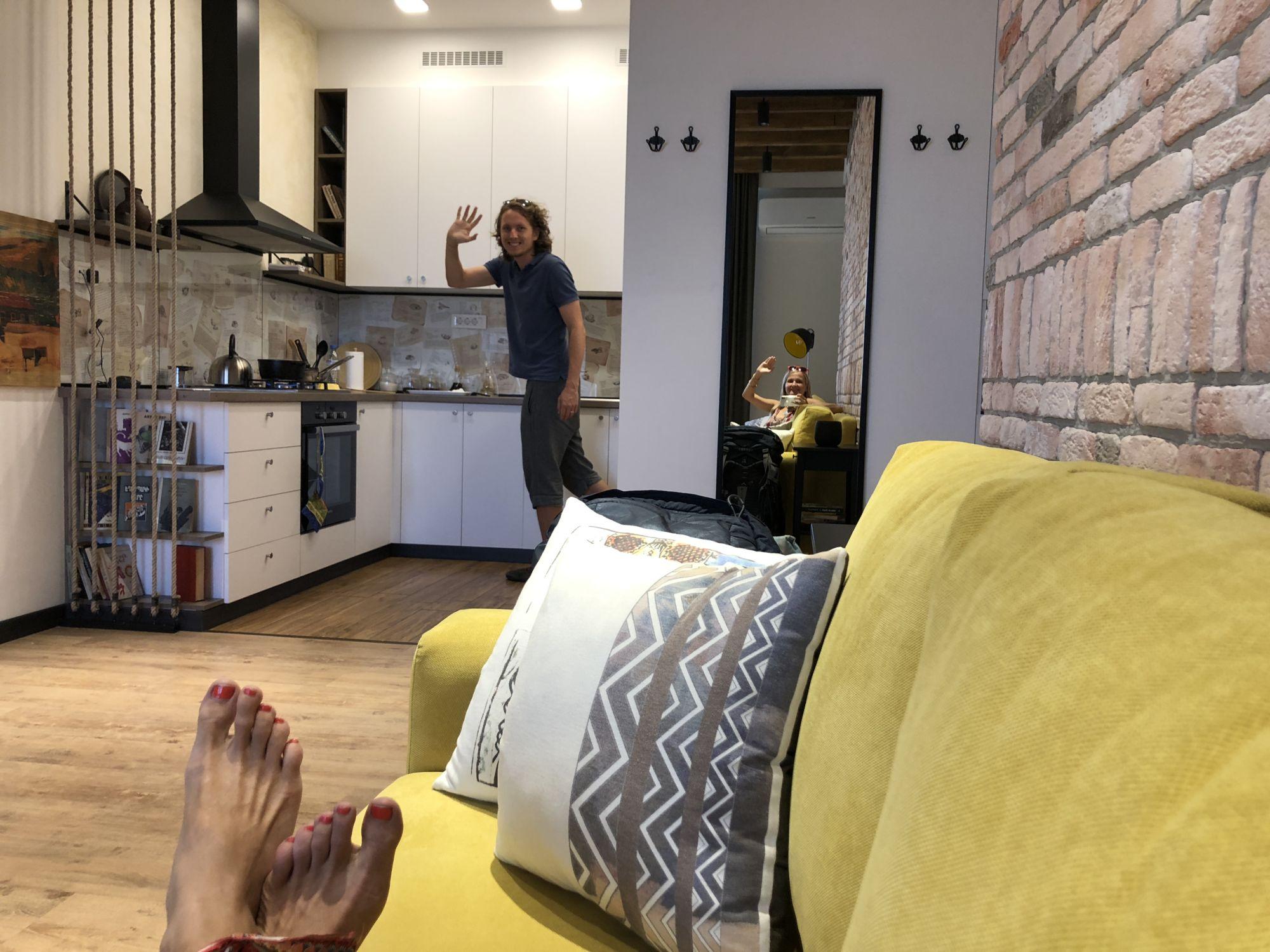 Zkušenosti s ubytováním Airbnb v Arménii