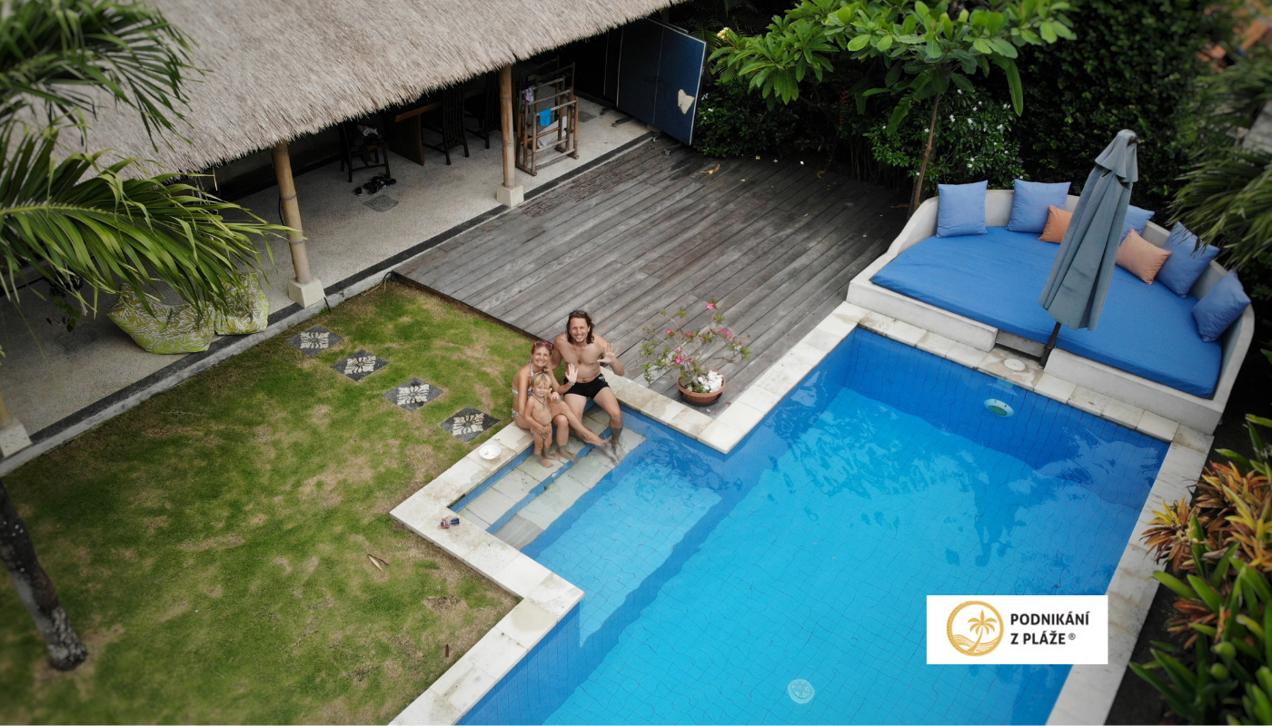 Ubytování na Bali přes AirBnb