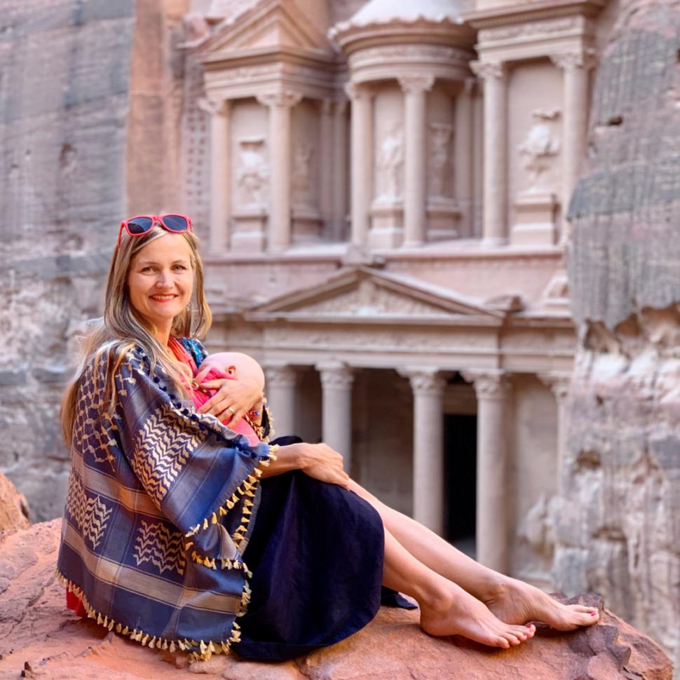 Jordánsko skalní město Petra